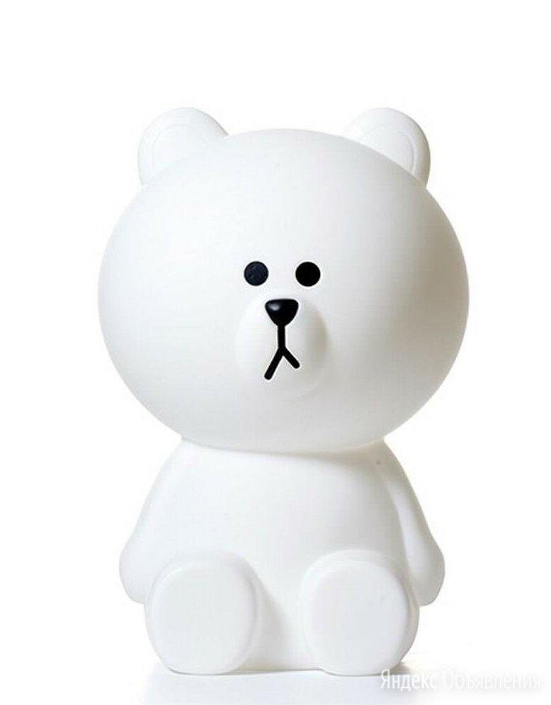 Детская настольная лампа Белый Мишка маленький по цене 19000₽ - Настольные лампы и светильники, фото 0