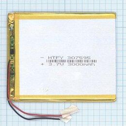 Аккумуляторы - Аккумулятор Li-Pol (батарея) 3*75*95мм 2pin…, 0
