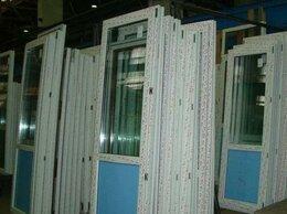 Готовые конструкции - Дверь пластиковая на дачу 2 стекла (24 мм), 0