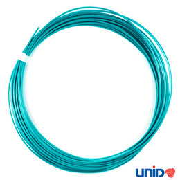 Расходные материалы для 3D печати - ABS пластик, цвет АКВАМАРИН, 1,75 мм., 10 метров, 0
