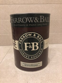 Краски - Краска Farrow Ball цвет 229 Elephant's Breath 5л, 0