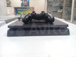 Игровые приставки - Игровая пристава Sony PS4 Slim (500gb) б/у, 0