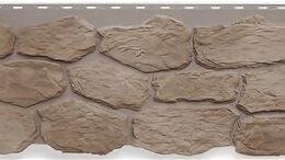 Фасадные панели - Панель Бутовый камень, Нормандский, 1130х470мм, 0