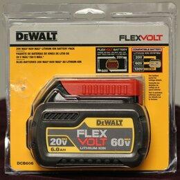 Аккумуляторы и зарядные устройства - Аккумулятор DeWALT DCB606 Li-Ion 20V/60V max 6 А·ч, 0