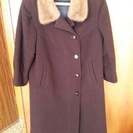 Пальто - Пальто драповое тёплое (Германия) Б/У. , 0