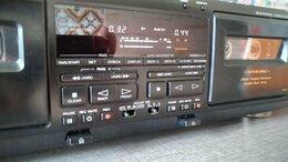 Музыкальные центры,  магнитофоны, магнитолы - Кассетная дека sony TC-WE805, 0