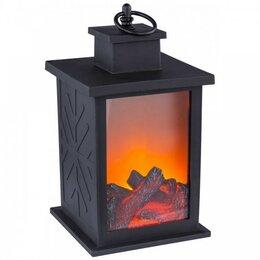 Ночники и декоративные светильники - Настольный камин эффект пламени светодиодный, 0