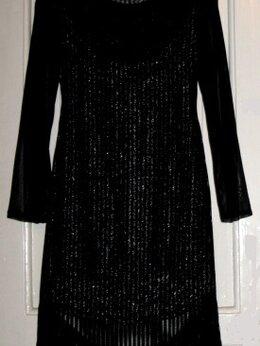 Платья - Платье новое с биркой р.42-44 бахрома, люрекс, 0