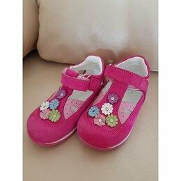 Балетки, туфли - Туфельки для девочки фирмы «Perlina». Размер 22 Новые, 0