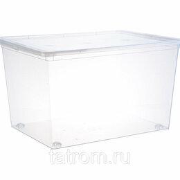 Прочие хозяйственные товары - Контейнер для хранения 50,0 л прозрачный 530 х 370 х 300 мм, 0
