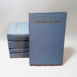 Художественная литература - Л. Леонов. Собрание сочинений в 5 томах., 0