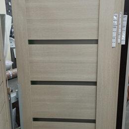 Межкомнатные двери - Дверь ЭКО цвет Белёный Дуб 600 2000, 0