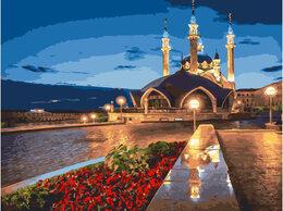 Картины, постеры, гобелены, панно - Картина по номерам Ночные огни мечети 40*50, 0