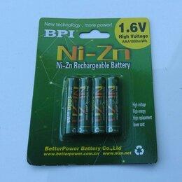Батарейки - Аккумуляторы 1.6V BPI Ni-Zn 1000mWh AAA, 0