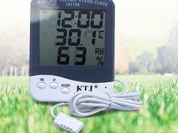 Метеостанции, термометры, барометры - Гигрометр - термометр TA-218A, 0