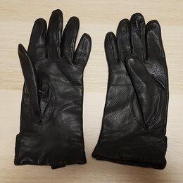 Перчатки и варежки - Перчатки женские, натуральная кожа, 2 пары, новые, 0