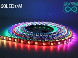 Светодиодные ленты - Адресная светодиодная RGB лента WS2812b 5v 60led…, 0