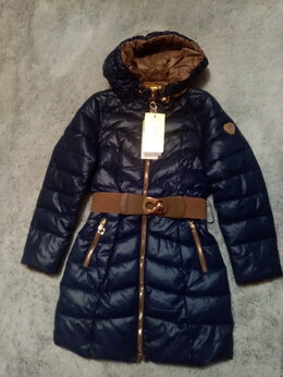 Куртки и пуховики - Пальто для девочки размер 140 зима, 0