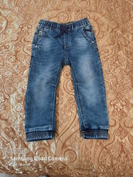 Джинсы - Детский джинсовый костюм для мальчика, 0