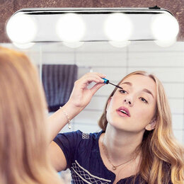 Устройства, приборы и аксессуары для здоровья - Лампа для макияжа Studio Glow 4в1, 0