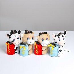 Мягкие игрушки - МУЗЫКАЛЬНАЯ КОПИЛКА БЫЧОК CCC-2, 0