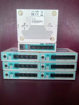 Проводные роутеры и коммутаторы - 10 маршрутизаторов Mikrotik rb750, 0