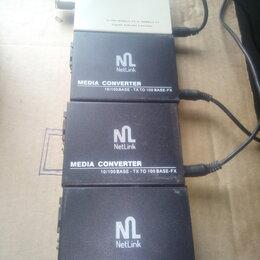Прочее сетевое оборудование - Медиа конвертеры NetLink, 0