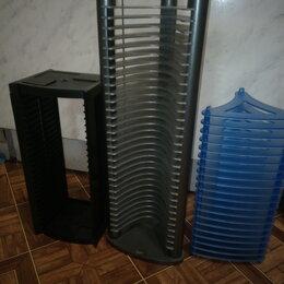 Корзины, коробки и контейнеры - стойки под СД-ДВД, 0