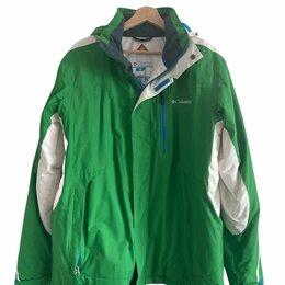 Защита и экипировка - Горнолыжная мужская куртка Columbia, размер М, 0