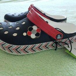 Шлепанцы - Новые Crocs сабо р. C12 на 29, оригинал, 0