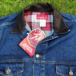 Куртки - Джинсовая Куртка Marlboro XL made in USA , 0