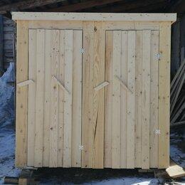 Готовые строения - Туалетная кабинка с хозблоком, 0