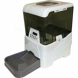 Туалеты и аксессуары  - Автокормушка 10,6 л для сухого корма, белая…, 0