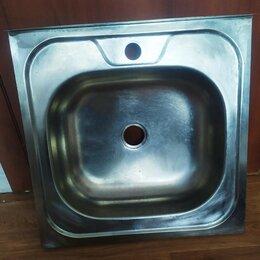 Кухонные мойки - Мойка накладная 500х500мм матовая, 0