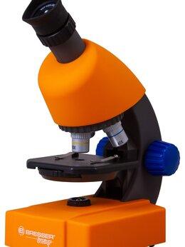 Микроскопы - Микроскоп Bresser Junior 40–640x, оранжевый, 0