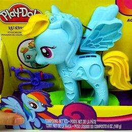 Лепка - Пластелин плей до набор Пони, 0