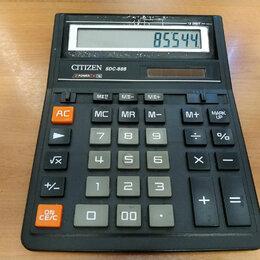Калькуляторы - Калькулятор Citizen SDC-888, 0