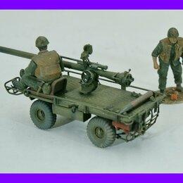 Сборные модели - 1/35 модель автомобиля 106 мм САУ М274 Механический мул США 1956, 0
