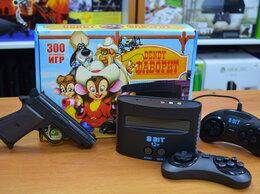 Игровые приставки - Dendy 8-bit Фаворит + пистолет+ 300 полных игр, 0