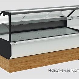 Холодильные витрины - витрина Полюс ВХСр-1,0 Carboma (Palm 2 GC95 SV 1,0-1) KombiLux / INOX, 0
