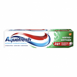 Зубная паста - Паста зубная Aquafresh мягко-мятная 100мл, 0