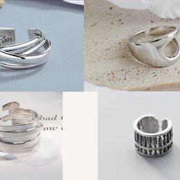 Кольца и перстни - Новые стильные женские кольца с пробой 925, 0