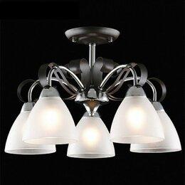Люстры и потолочные светильники - Потолочная люстра Eurosvet Шарлиз 30090/5 хром/черный, 0