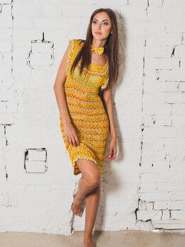 Платья - Желтое платье, 0