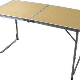 Походная мебель - Стол складной 120*60*70 см + 4 стула, 0
