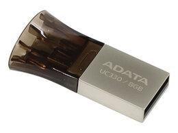 USB Flash drive - Флеш накопитель 8GB A-DATA DashDrive UC330 OTG USB, 0