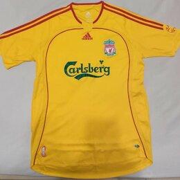 Футболки и майки - Футболка Liverpool Adidas желтая, 0