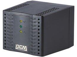 Стабилизаторы напряжения - Стабилизатор напряжения Powercom TCA-2000 черный, 0