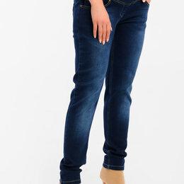 Брюки - Прямые полуоблегающие джинсы для беременных, 0