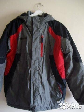 Куртка зимняя Columbia на 12-14 лет,б/у по цене 3000₽ - Куртки и пуховики, фото 0